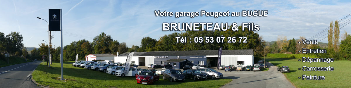 Garage bruneteau fils le bugue for Garage peugeot avenue d italie