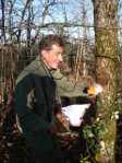 Frédéric Ledun, forest manager