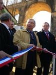 Inauguration le 5 mars 2010 du premier Central Haut Débit Zone d'Ombre (NRA-ZO) à Mauzens Miremont